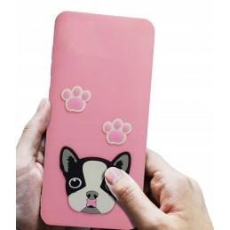 Etui case 3d Francuski dog do Samsung Galaxy A51