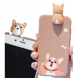 Etui MISIO z Uszami do Iphone 12 i 12 Pro 6.1 cala