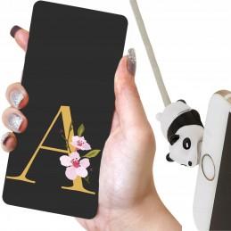 Żółte etui lalka wzory MISIO Samsung Galaxy A11