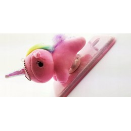 etui 3d na Iphone 7 Brokat Jednorożec Unicorn case