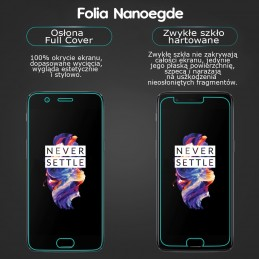 5d NANOEDGE folia supermocna cały ekran IPHONE X