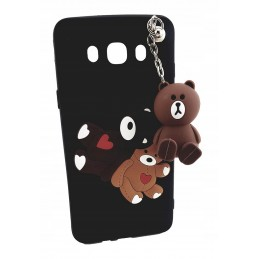 Etui Futrzak Portfel iPHONE 8 PANDA kokara case 3d
