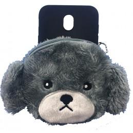 Etui PORTFEL ŚWINKA MIŚ do Samsung Galaxy J4 Plus guma case tanio pokrowiec telefon