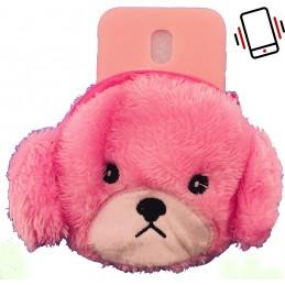 Etui MIŚ MISIO BRELOK 3D do Samsung Galaxy J4 Plus guma case tanio pokrowiec telefon