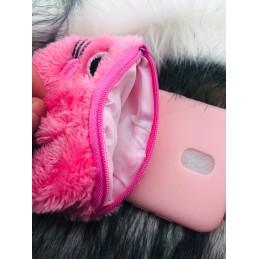 Etui case Kotek Portfelik do Huawei Y7 2018 guma case tanio pokrowiec telefon