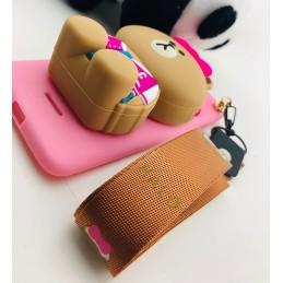 Etui Miś Portfel smyczka do Huawei Mate 20 Lite guma case tanio pokrowiec telefon