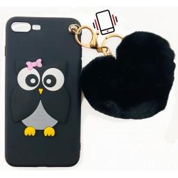 Etui case KOT BLACK do Samsung Galaxy S6 Case nakładka plecki na telefon 3d wzory