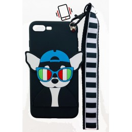 Etui KOT CAT BRELOK 3D do Xiaomi Redmi Note 5 guma case tanio pokrowiec telefon
