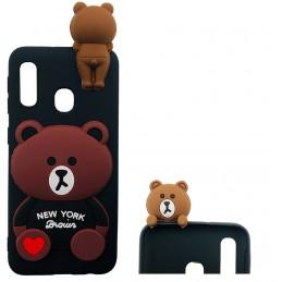 Etui Świnka z brelokiem do Samsung Galaxy S7 guma case tanio pokrowiec telefon