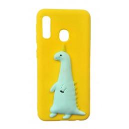 Etui Brelok Jednorożec do Samsung Galaxy A6 2018 guma case tanio pokrowiec telefon