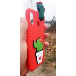 Etui 3d różowe KAKTUS do Xiaomi Redmi 7A