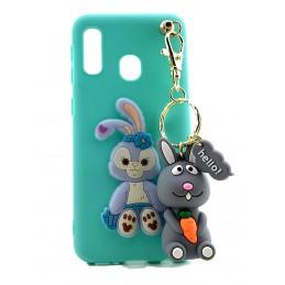 Etui Oczy EYE EYES SMYCZ do Huawei Y5 2018 Case nakładka plecki na telefon 3d wzory