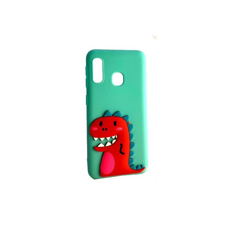 Etui CASE DINOZAUR 3D do Samsung Galaxy S8 guma case tanio pokrowiec telefon