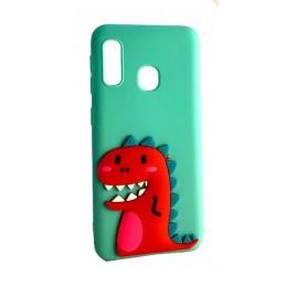 Etui KRÓLIK z brelokiem Samsung Galaxy J3 2016 Case nakładka plecki na telefon 3d wzory
