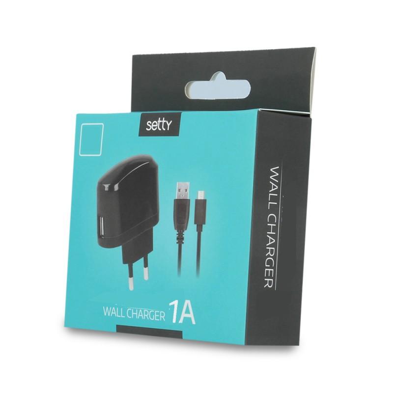 Ładowarka + kabel Micro USB (1A)