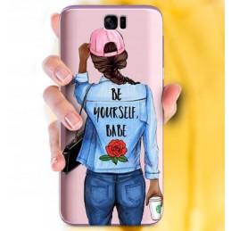 Etui KOT NOC 3D na Samsung Galaxy S7